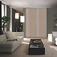 Valla Grey oak effect Sliding Wardrobe Door (H)2260mm (W)922mm