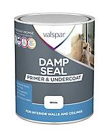 Valspar Damp seal White Primer & undercoat, 0.75L