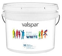 Valspar Pure brilliant white Matt Emulsion paint 10 L