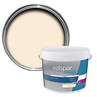 Valspar Trade Magnolia Matt Emulsion paint, 10L