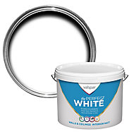 Valspar White Matt Emulsion paint, 10L