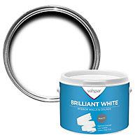 Valspar White Matt Emulsion paint, 2.5L