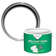 Valspar White Silk Emulsion paint, 2.5L