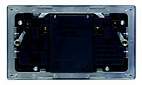 Varilight 13A Grey Double USB socket