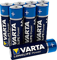 Varta Longlife Power Non-rechargeable AA Battery, Pack of 12