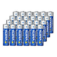 Varta Longlife Power Non-rechargeable AA Battery, Pack of 24