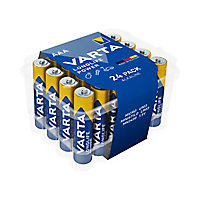 Varta Longlife Power Non-rechargeable AAA Battery, Pack of 24