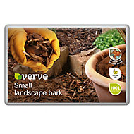 Verve Bark chippings Small 100L Bag