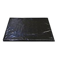 Verve Black Polyethylene Weed control fabric, (L)5m (W)2m