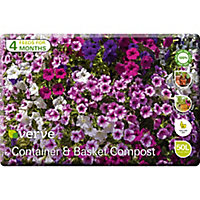 Verve Container & basket Peat-free Compost 50L