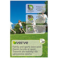 Verve Family & sports Lawn seed 60m² 1.5kg