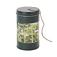 Verve Green Jute & steel Plant tie