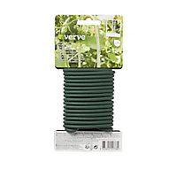 Verve Green Plastic & steel Plant tie