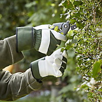 Verve Green & white Gardening gloves, X Large
