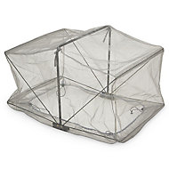 Verve Kitchen garden Grey Polyphenylene ether (PPE) & steel Easy access grow cover, (L)0.8m (W)0.6m