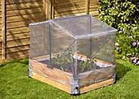 Verve Kitchen garden Grey Polyphenylene ether (PPE) & steel Grow cover, (L)0.8m (W)0.6m