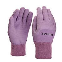 Verve Nylon Lavender Gardening gloves, Large