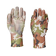 Verve Polyester (PES) Green Gardening gloves, Large