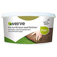 Verve Pre lawn seed & turf fertiliser 28m² 1L