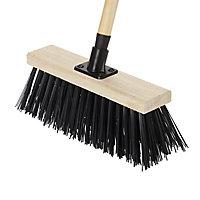 Verve Stiff Synthetic Outdoor Broom, (W)330mm