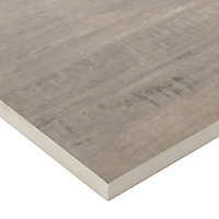 Vintage Natural Matt Wood effect Porcelain Outdoor Floor tile, Pack of 2, (L)1195mm (W)297mm
