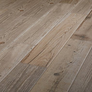 Vintage oak Natural Matt Wood effect Porcelain Floor Tile Sample