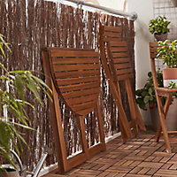 Virginia Wooden Chair, Pack of 2