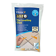 Vitrex LASHCL100 Plastic 172mm Tile levelling spacer, Pack of 100