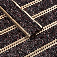 Walksure Spruce Deck board (L)2.1m (W)120mm (T)28mm, Pack of 5