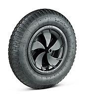 Walsall Pneumatic Wheel, (Dia)350mm (W)100mm