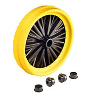 Walsall Puncture-proof Wheel, (Dia)350mm (W)80mm