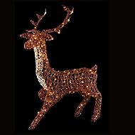 Warm white LED Reindeer Christmas decoration