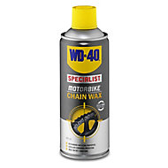 WD-40 Motorbike chain Wax, 400ml Can
