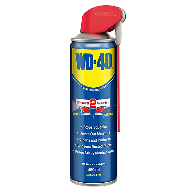 Wd 40 Smart Straw Oil Lubricant 0 45l, Wd40 On Laminate Flooring