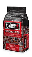 Weber Charcoal briquettes, 4kg