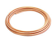 Wednesbury Copper Compression Tube (L)10m (Dia)8mm