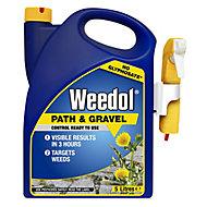 Weedol Power sprayer path & patio Weed killer 5L 5kg