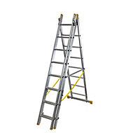 Werner ExtensionPLUS™ X4 23 tread Combination Ladder