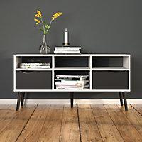 White & Black TV stand 2.6kg