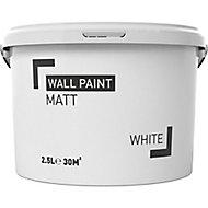 White Matt Emulsion paint, 2.5L