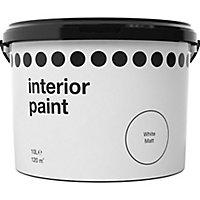 White Vinyl matt Emulsion paint, 10L
