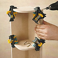 "Wolfcraft 8.5"" Corner clamp"