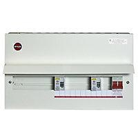 Wylex 100A 15 way High integrity dual RCD Consumer unit
