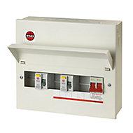 Wylex 100A 7 way High integrity dual RCD Consumer unit