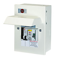 Wylex 63A 2 way Shower Consumer unit