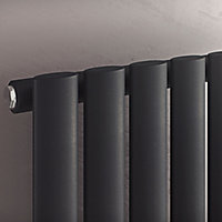 Ximax Champion Vertical Designer Radiator, Anthracite (W)294mm (H)1800mm