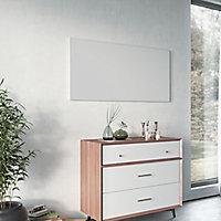 Ximax Infrared panel Horizontal or vertical Designer Radiator, White (W)1200mm (H)600mm