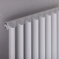 Ximax K4 Vertical Towel radiator, White (W)580mm (H)1710mm