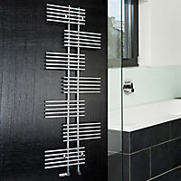 Ximax Parallel-Rail 694W Electric Towel warmer (H)1762mm (W)650mm