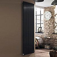 Ximax Supra Square Vertical Designer Radiator, Anthracite (W)550mm (H)1800mm